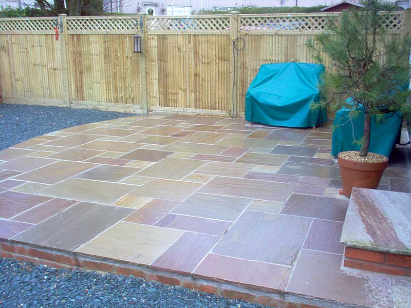 Patio completed