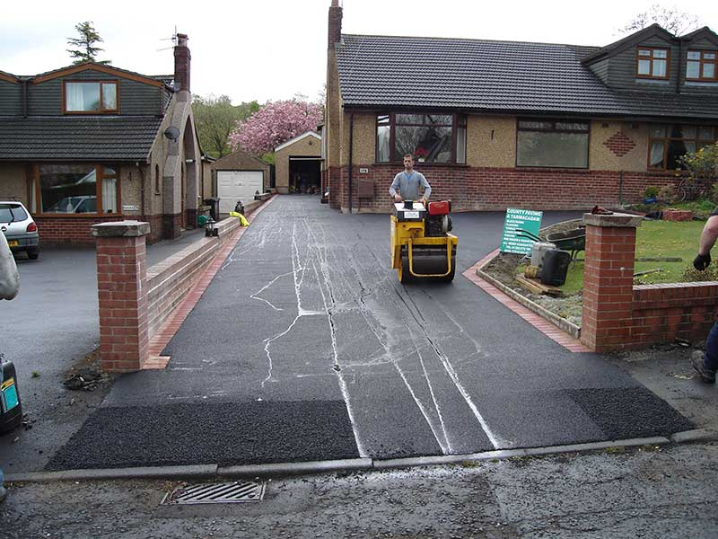 Tarmacadam in Whalley